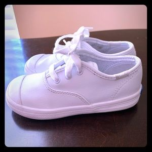 KEDS White Champion Toe Cap Sneakers Sz 9M
